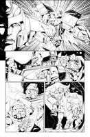 IDW TF 20 p.12 - Digital Inks by GuidoGuidi
