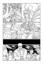 Judge Dredd - cartoon style by GuidoGuidi