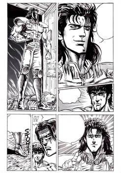 Hokuto no Ken page repro