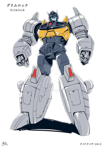 TF Victory - GRIMLOCK by GuidoGuidi