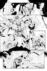 Infestation Transformers 2 - #1 pg.14 inks