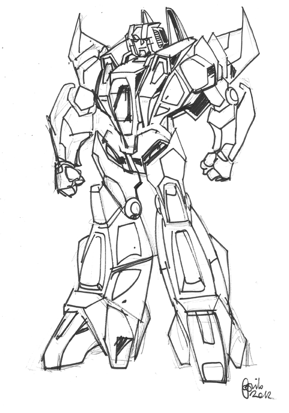 WOC Starscream by GuidoGuidi on DeviantArt