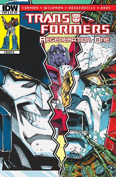 TF Regeneration One #84 retro cover - October 2012