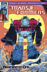 Transformers Regeneration One #85 - Retro Cover