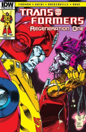 Transformers Regeneration One 96 retro cover B by GuidoGuidi