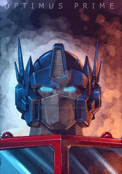 Optimus Head by GuidoGuidi