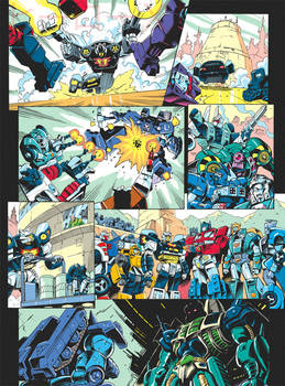 Transformers Generations 2011 vol.2 - comic page 4