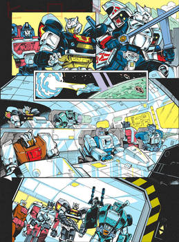 Transformers Generations 2011 vol.2 - comic page 2