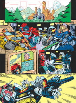Transformers Generations 2011 vol.2 - comic page 1