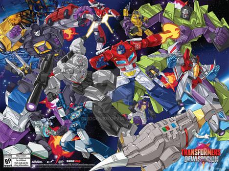 Transformers Devastation SDCC 2015 Poster