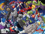 Transformers Devastation SDCC 2015 Poster