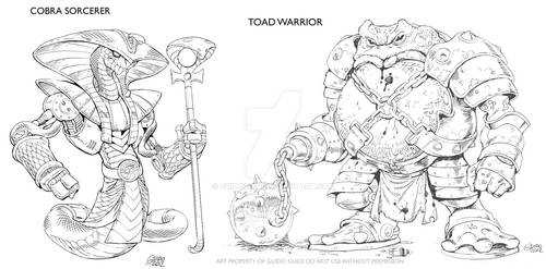 Beast Warriors concepts