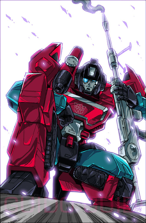 IDW Sins of the Wreckers #5 alt cover by GuidoGuidi