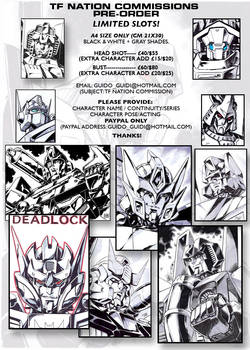 TF Nation Commissions pre-order info