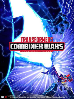Machinima Combiner Wars Optimus Prime Poster