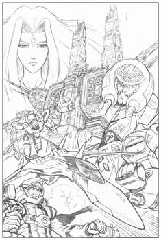 Robotech tryout for Dreamwave