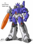 Galvatron early study - colors