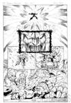 Galvatron page 4 inks