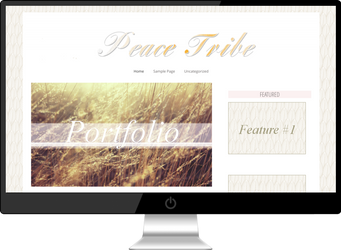 Free Genesis Framework Child Theme - Peace Tribe by stormingdance