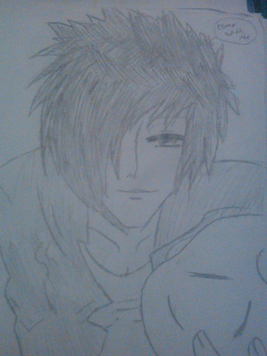 hot anime guy by moonstar4444