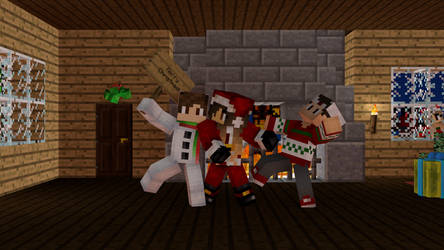 Merry Minecraft Christmas