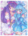 Shanea and Daelia by Frogger277