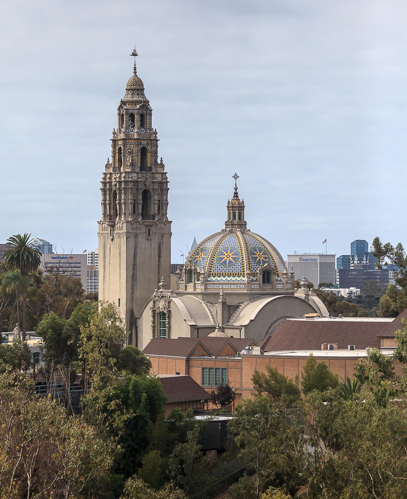 Balboa Park Bell Tower by dkbarto