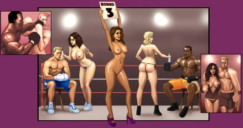 Betty's Boyfriend Boxing by bozeeke