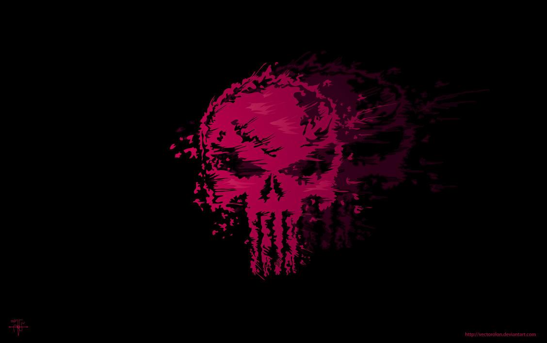 The Punisher skull vector by Vectorolon on DeviantArt