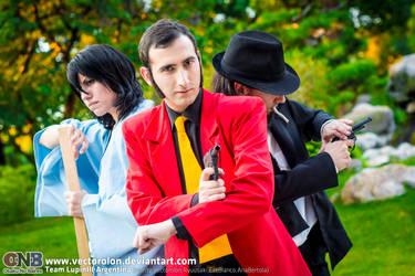 Team LupinIII Cosplay Feb2014 photo32 by Vectorolon