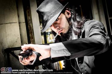 Team LupinIII Cosplay Feb2014 photo19 Jigen by Vectorolon