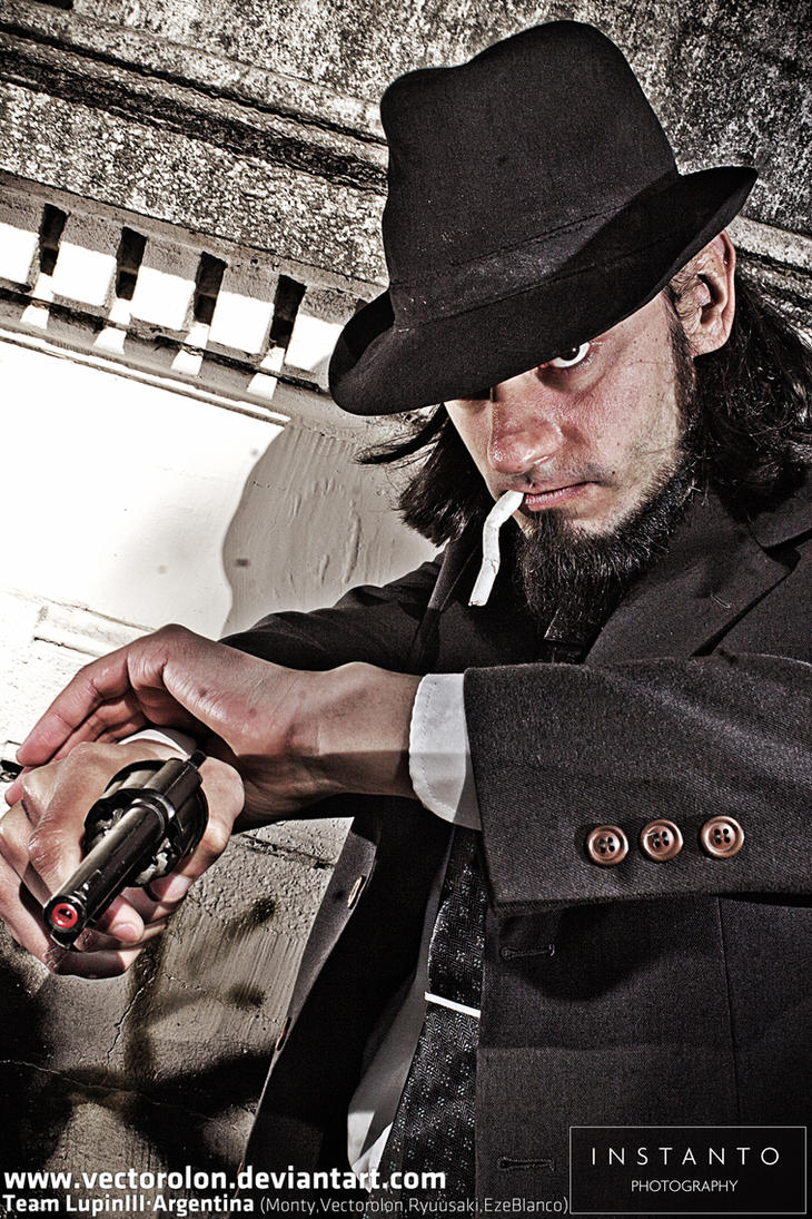 Team Lupin III Cosplay INSTANTO photo15 Jigen by Vectorolon