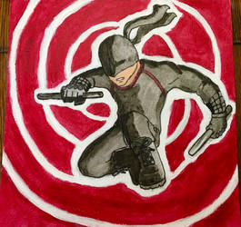 Vigilante DareDevil painting by The-Emeralds