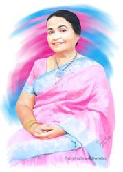 Veteran Singer Angeline Gunathilake by senarath