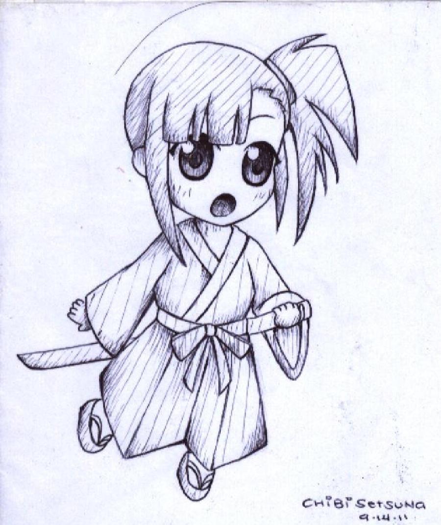 Chibi Setsuna by HanaMoe