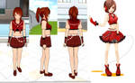 Yandere Simulator skin Meiko_Sakine by NekaSan