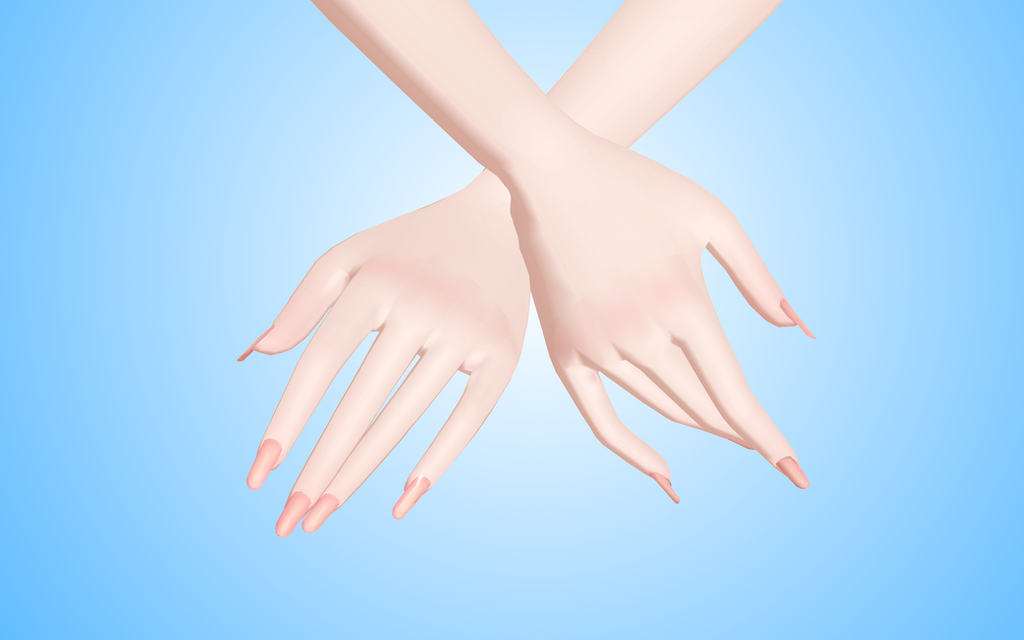 Nails for model TDA MMD by NekaSan