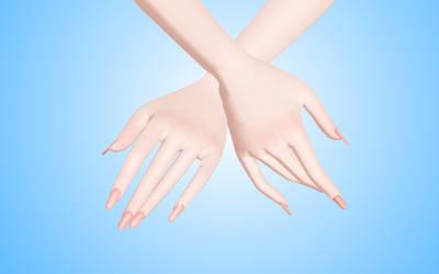 Nails for model TDA MMD by NekaSan