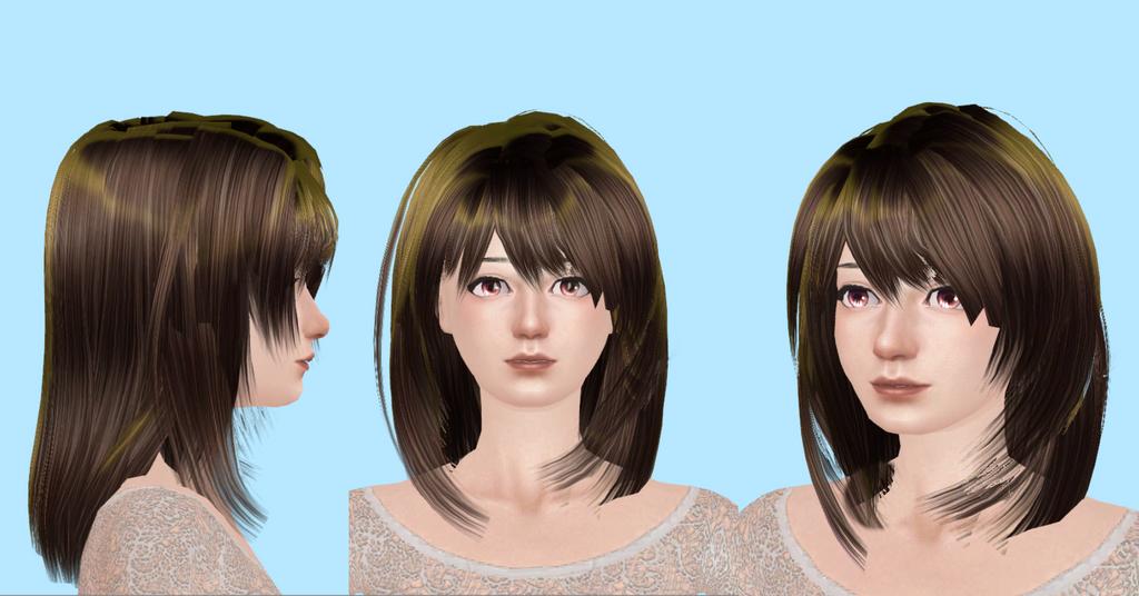 NewSea - Yuna Hair MMD by NekaSan