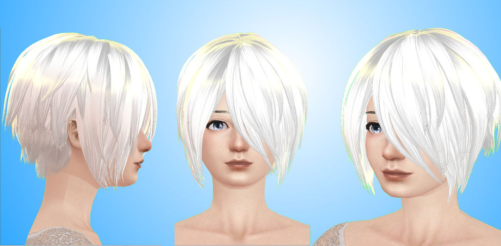 Hair MMD by NekaSan