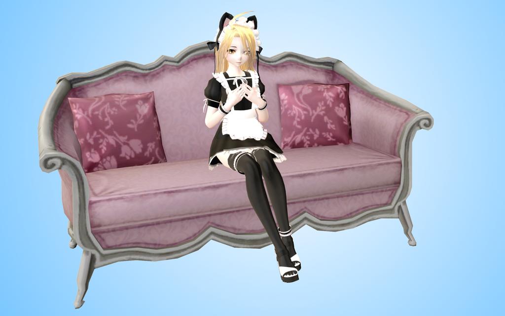 Sofa MMD Sims 4 by NekaSan