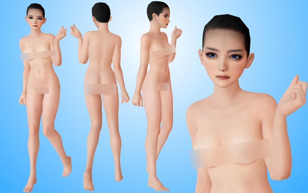 realistic base MMD +18 by NekaSan