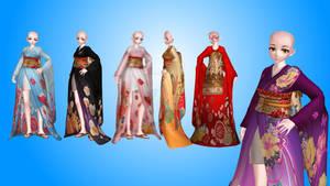 kimono MMD TDA