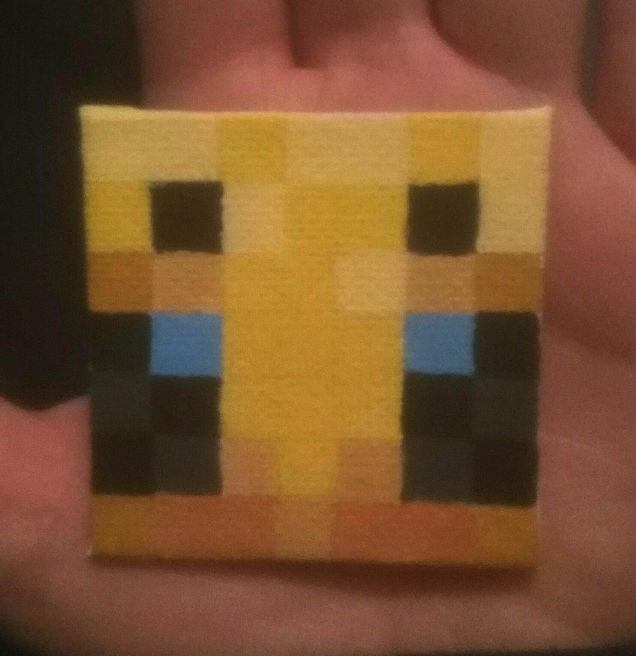 A Small Minecraft Bee (just the face tho) by Orzonix on DeviantArt