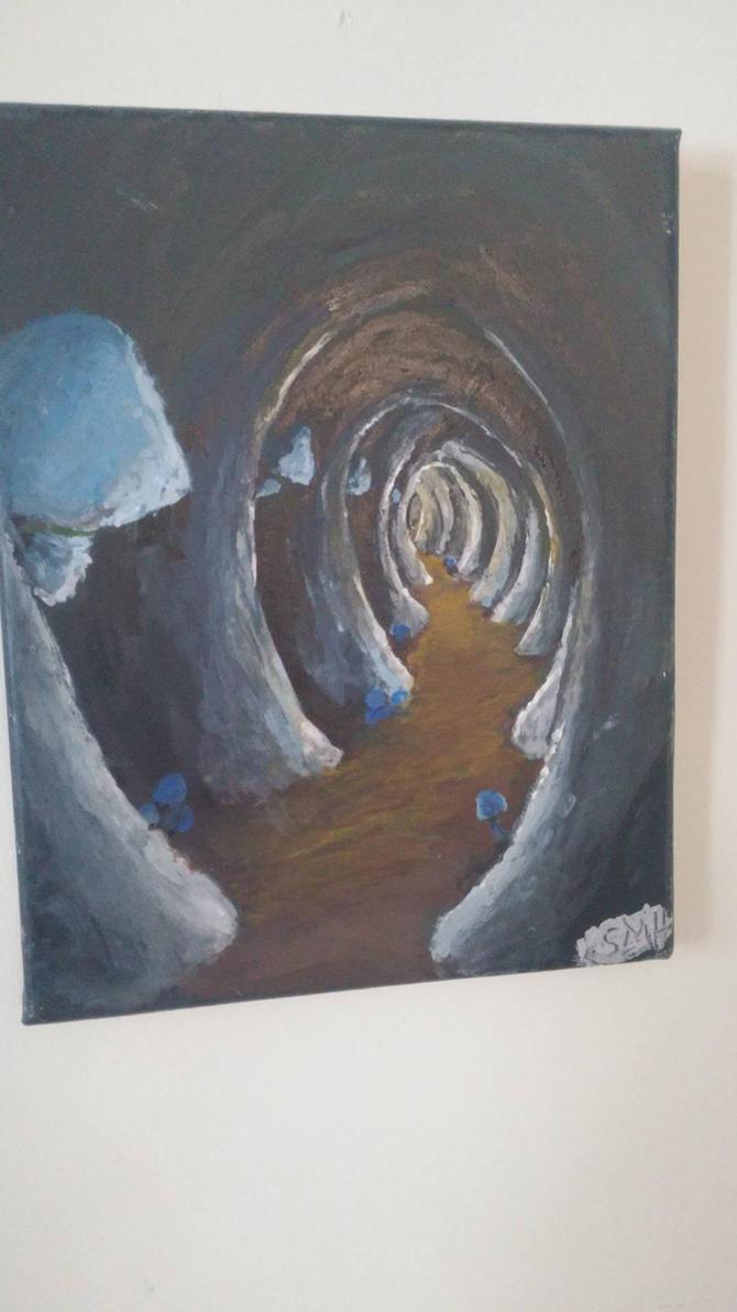 Mushroom Cave by Fleshsockmonkey