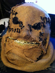 Scarecrow mask by Scarfgirl