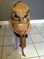 evil scarecrow mask pt 2 by Scarfgirl