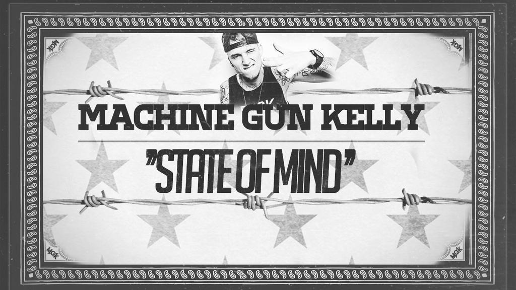 Machine Gun Graphic Machine Gun Kelly Lyrics Video