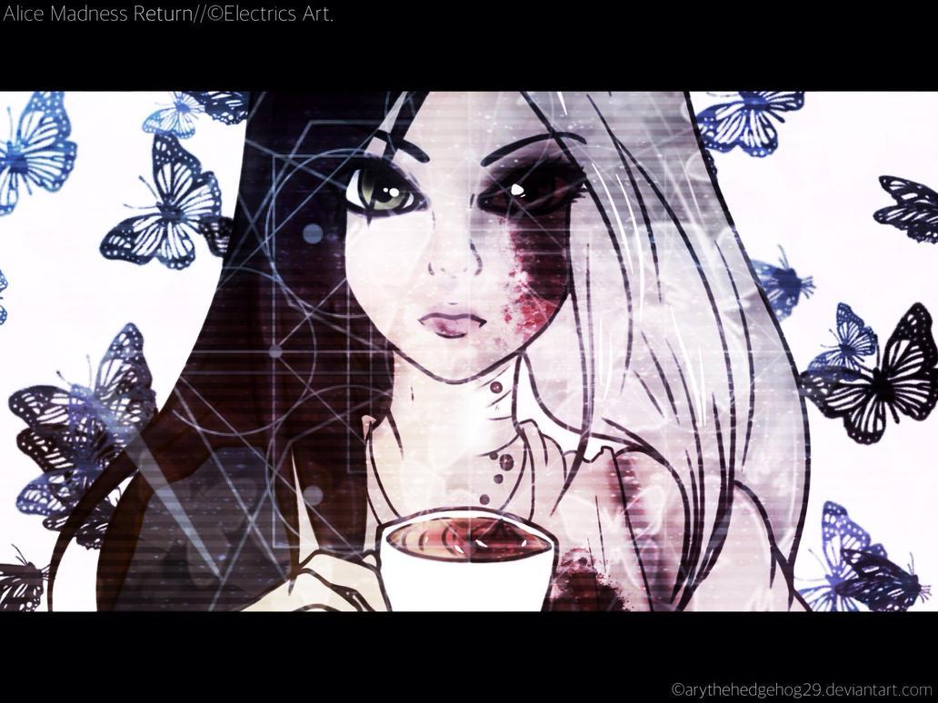 Alice Madness Return//TEA and BLOOD// by AryTheHedgehog29