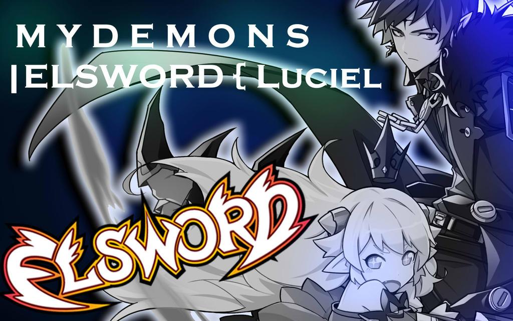 M Y   D E M O N S | ELSWORD { Luciel by AryTheHedgehog29